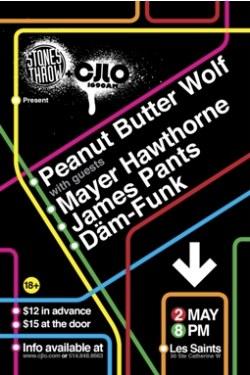 Peanut Butter Wolf Poster