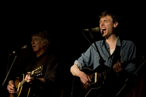 Joel Plaskett and Bill Plaskett at Sala Rossa McEachern