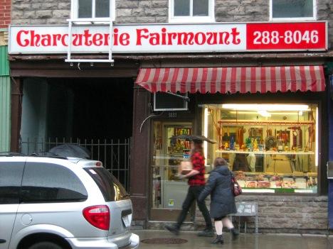 Charcuterie Fairmount