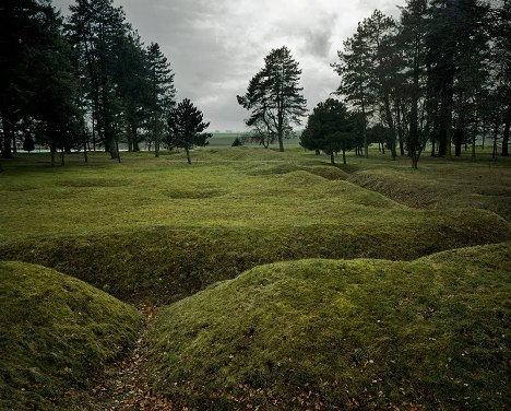 Trenches, Newfoundland memorial, Beaumont-Hamel, Somme, Picardie, France, 2006.jpg