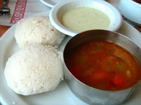 Idli at Indian Maison Curry House