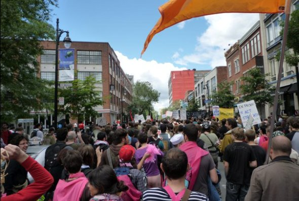 montreal g20 protest