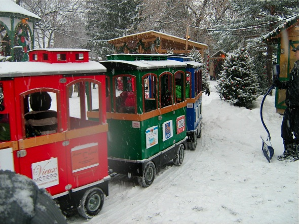 Longueuil Christmas Market Train Ride