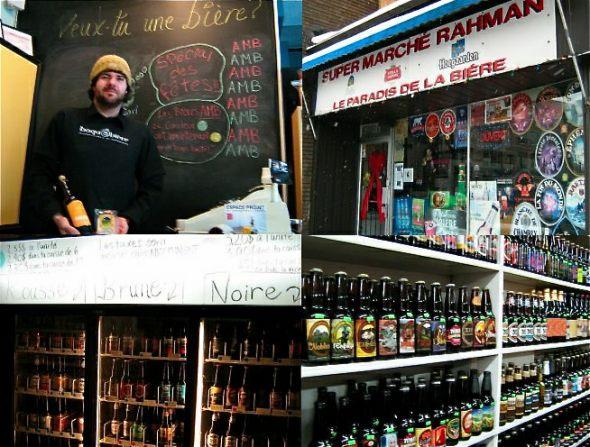 Montreal Beer Throwndown: Veux-tu une biere vs. supermarche rahman paradis de la biere