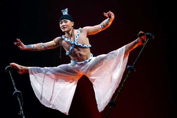 Chinese National Troup at the Festival Mondial du cirque de demain
