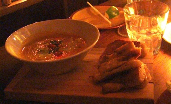 Bocata Tomato Soup and Grilled Cheese