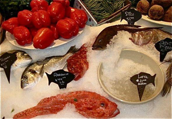 Seafood at Milos