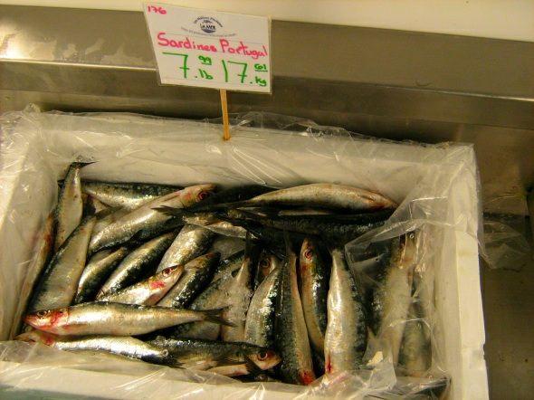 Sardines at Poissonerie La Mer
