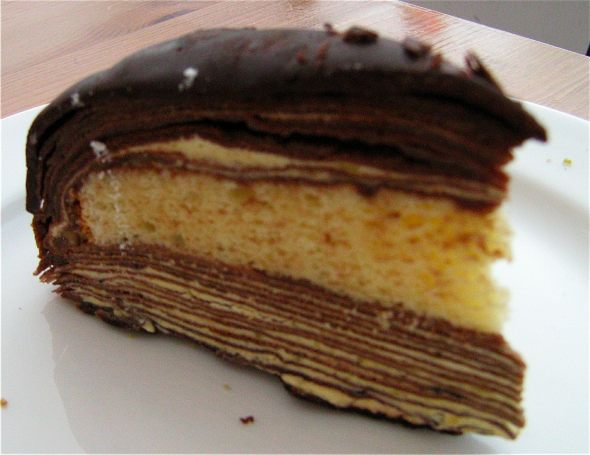 L'entoilage Boston Cream crepe Cake