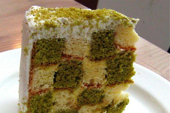 L'Entoilage Green Tea Cake