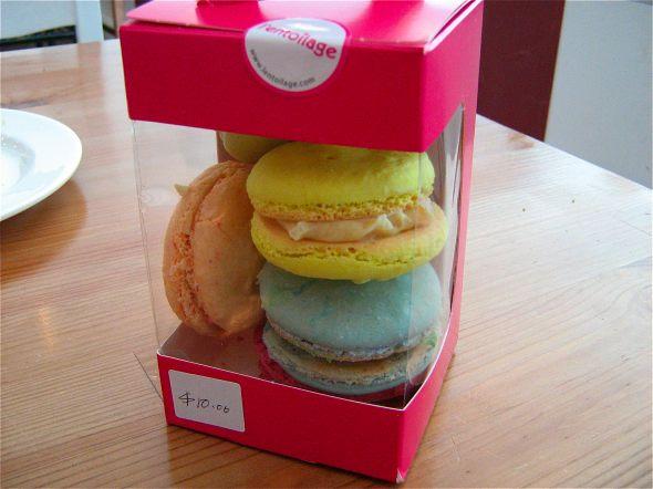Macarons at L'Entoilage