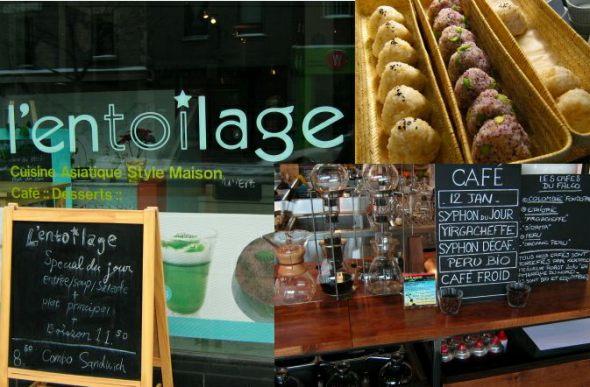 Montreal Japanese Cafe throwdown - L'Entoilage vs. Cafe Le Falco