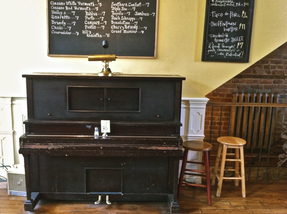 Griffintown Cafe Piano