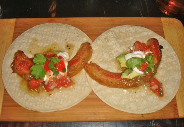 timeless design bf74c 9244d Griffintown Cafe Jowl Bacon Tacos