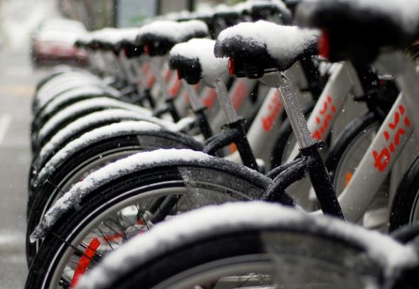 Montreal Bixi bicycle bike cycling spring ignatieff