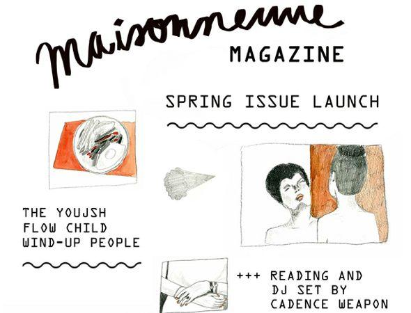 Maisonneuve Magazine Spring Launch