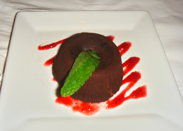 Le Continental chocolate fondant