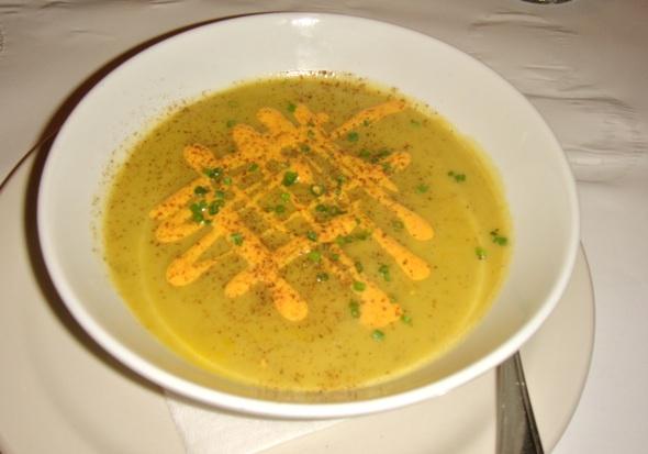 Le Continental squash soup