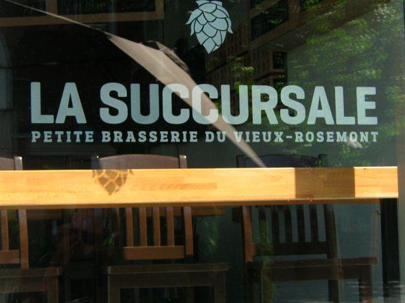 Montreal Brewpub La Succursale