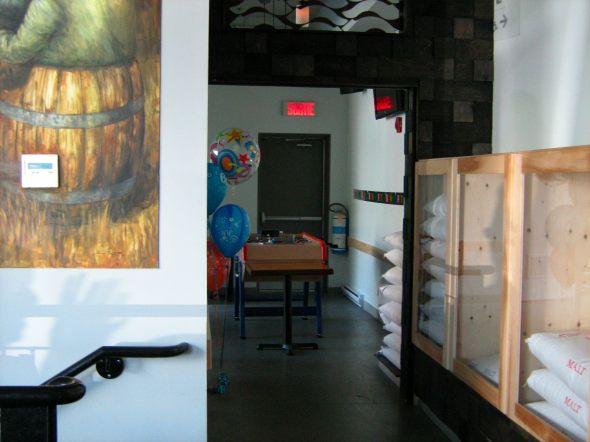 La Succursale Back Room/Party Room