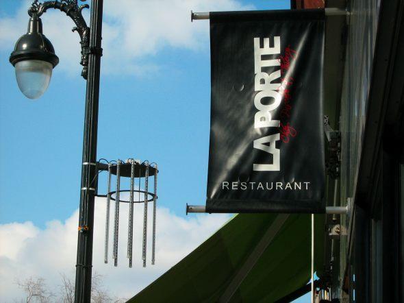 Restaurant La Porte best lunch at the festival en lumiere 2012