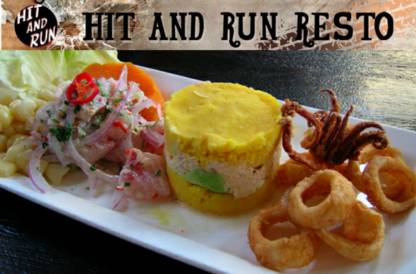 Hit and run pop-up restaurant in Montreal