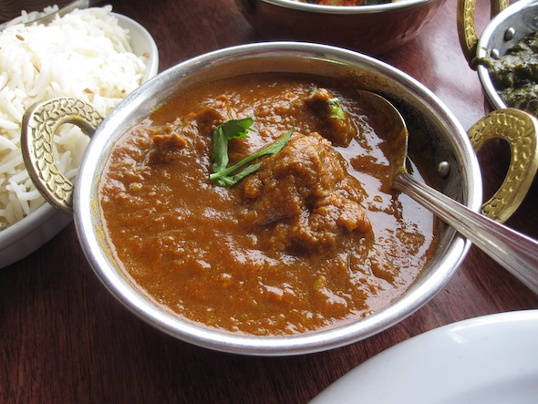 Chand Palace Lamb Curry