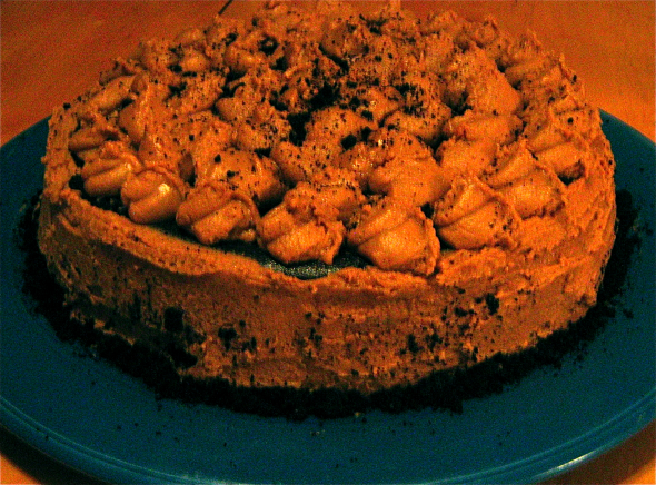 Chocolate-fudge-cookie-dough-cake-with-mocha-buttercream