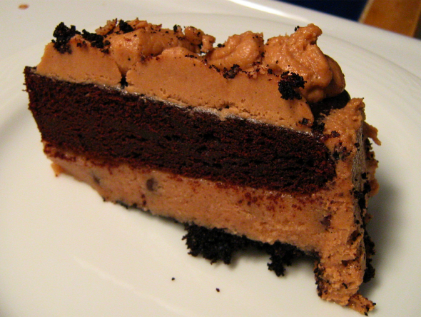 gluten-free-Chocolate-fudge-cookie-dough-cake-with-mocha-buttercream