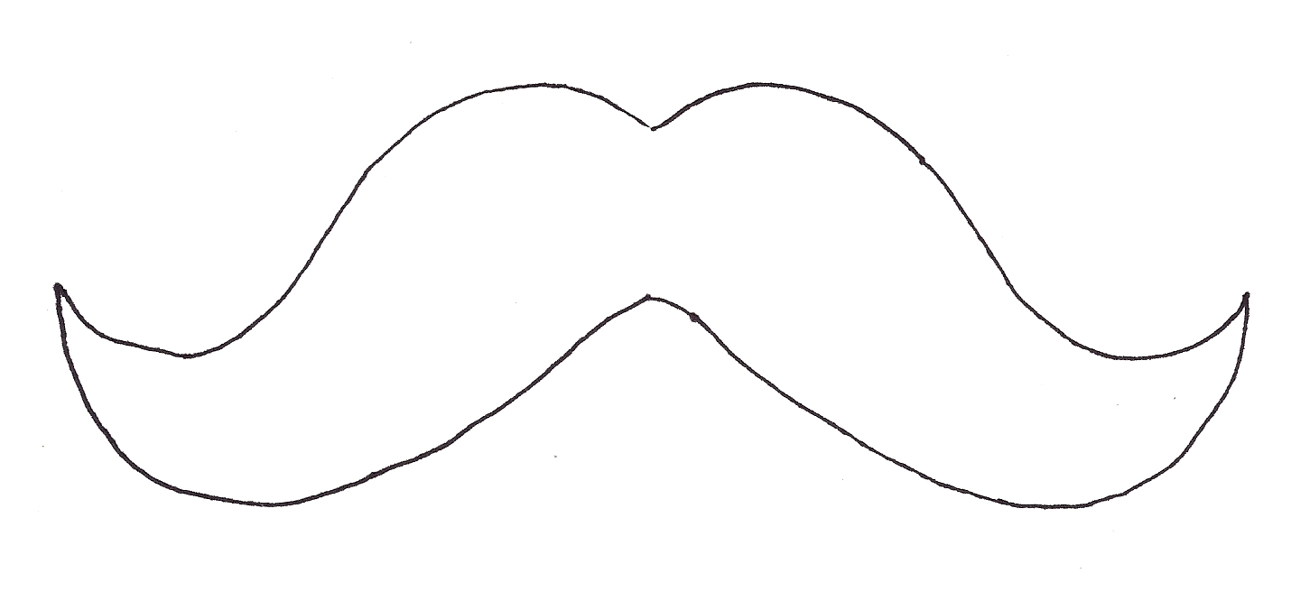 Montreal artists are going m for movember for Mustach template