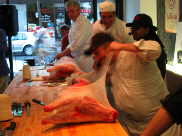 Butchering competition