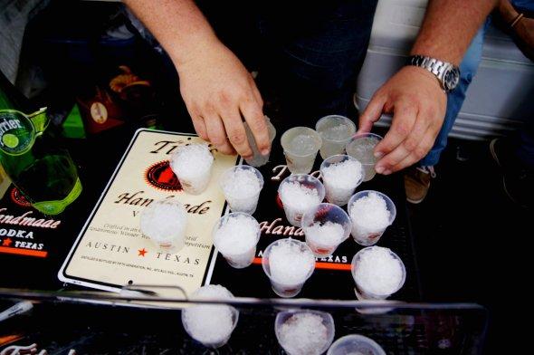 Tito's Vodka Snow cones.JPG