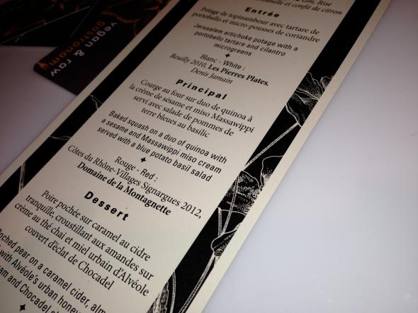Souper Lincoln Popup menu by Stephanie Audet
